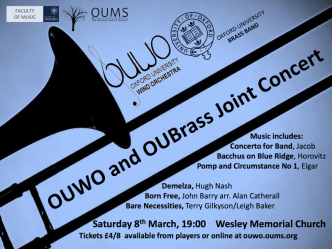 OUWO Concert Poster HT14